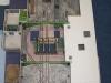 Celkový pohled na dokončenou jámovou budovu v úrovni ohlubně (listopad 2011)