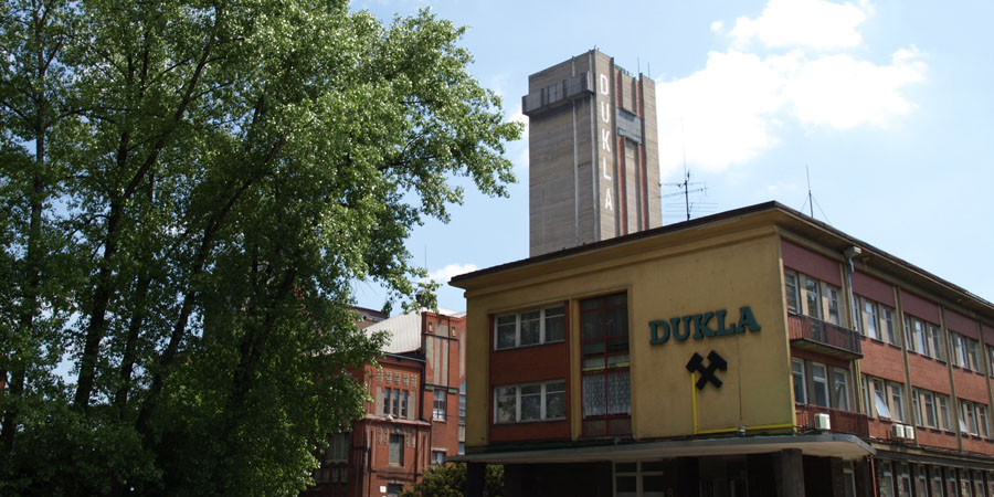 Důl Dukla, květen 2008