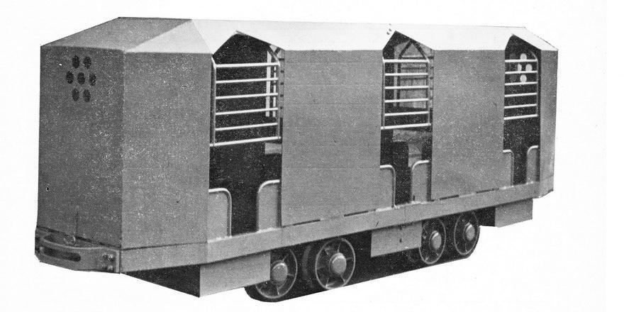 Důlní vůz DM 12