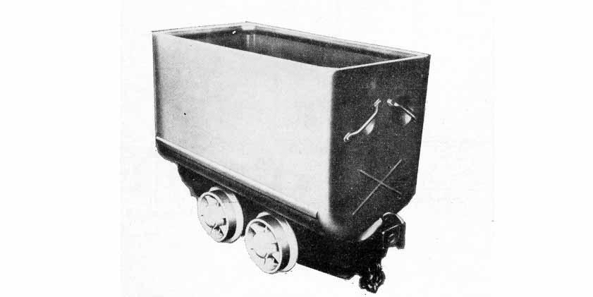 Důlní vůz – typ JDV
