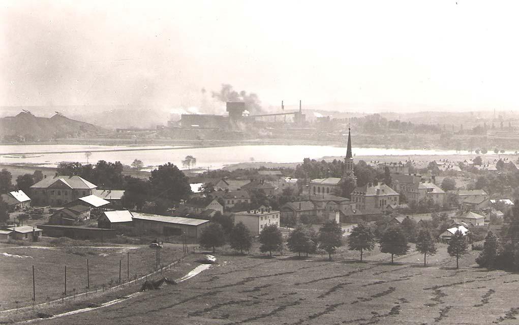 Důl ČSA, pohled od Doubravy