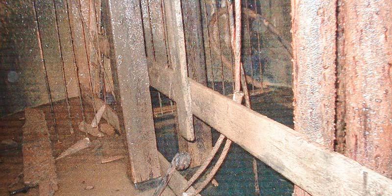 Zatopená jáma v Horním Městě