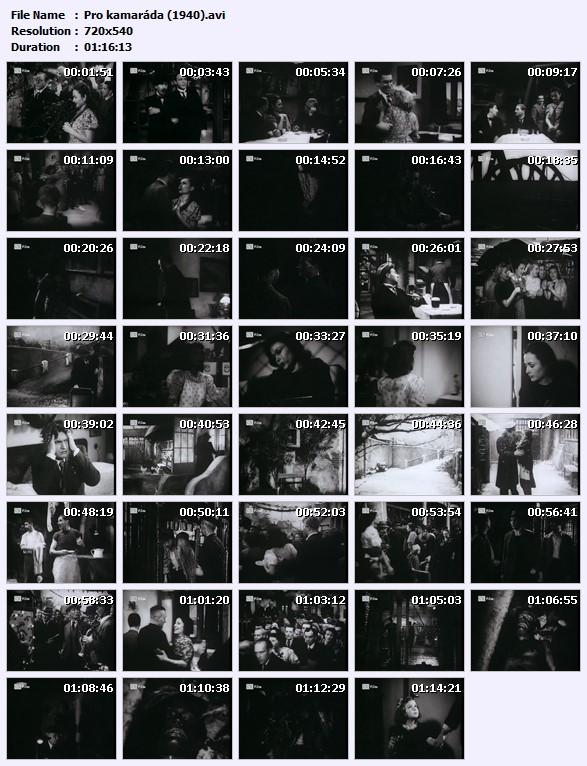 Pro kamaráda (1940)