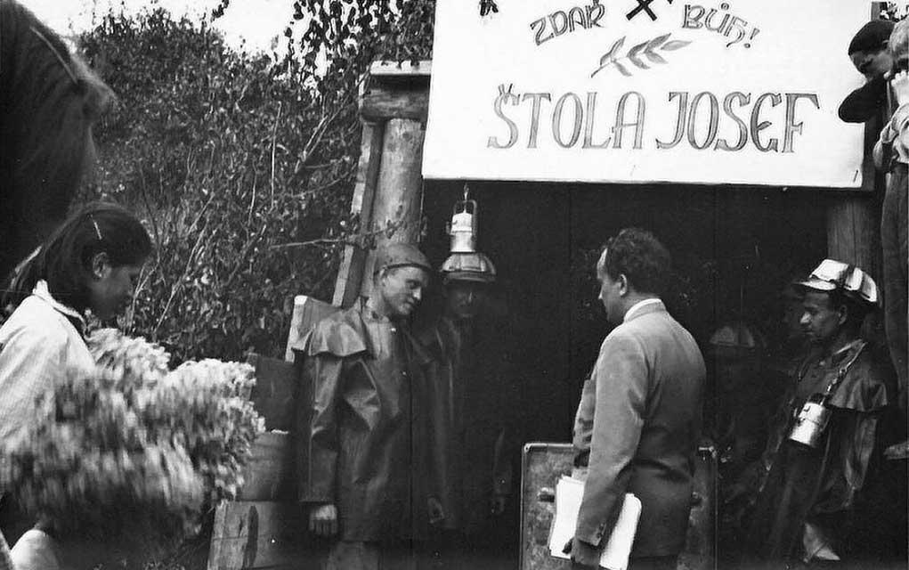 Štola Josef v Horním Městě