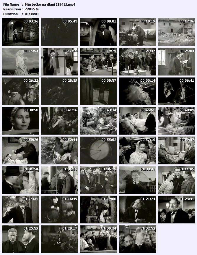 Městečko na dlani (1942)